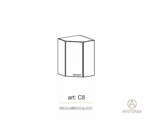 Кухня модуль навесной  C8