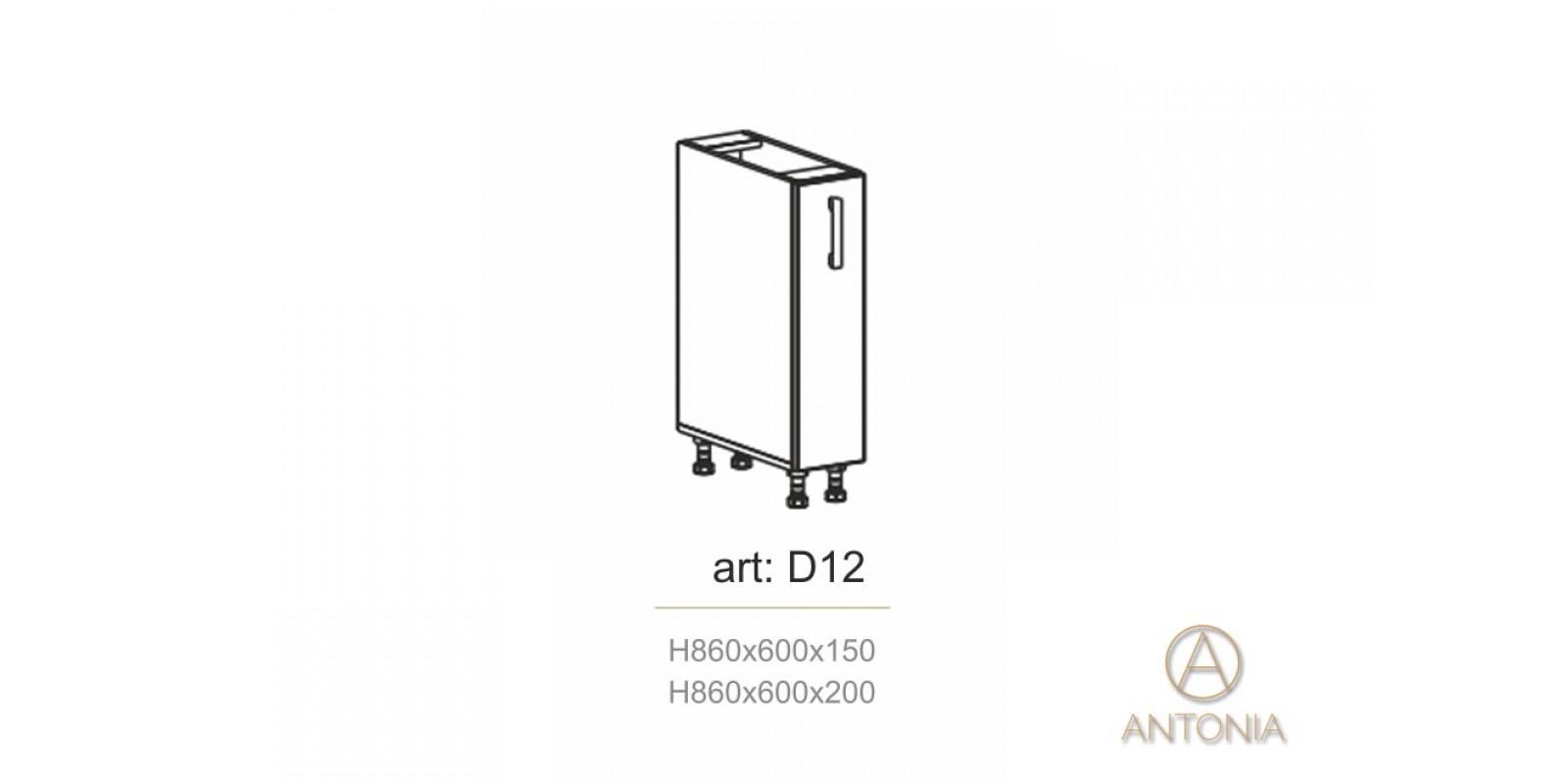 Кухня модуль  D12