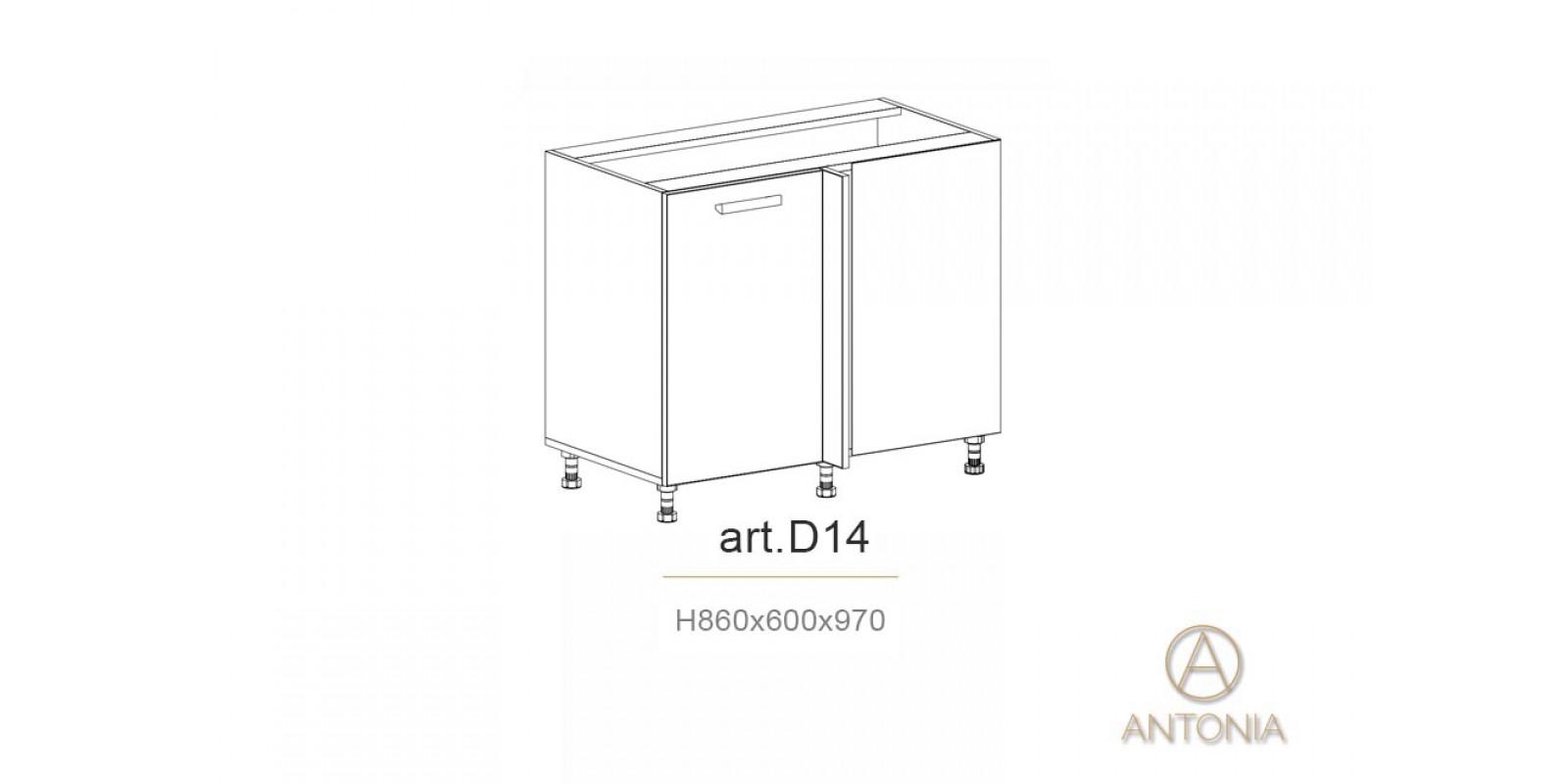 Кухня модуль  D14