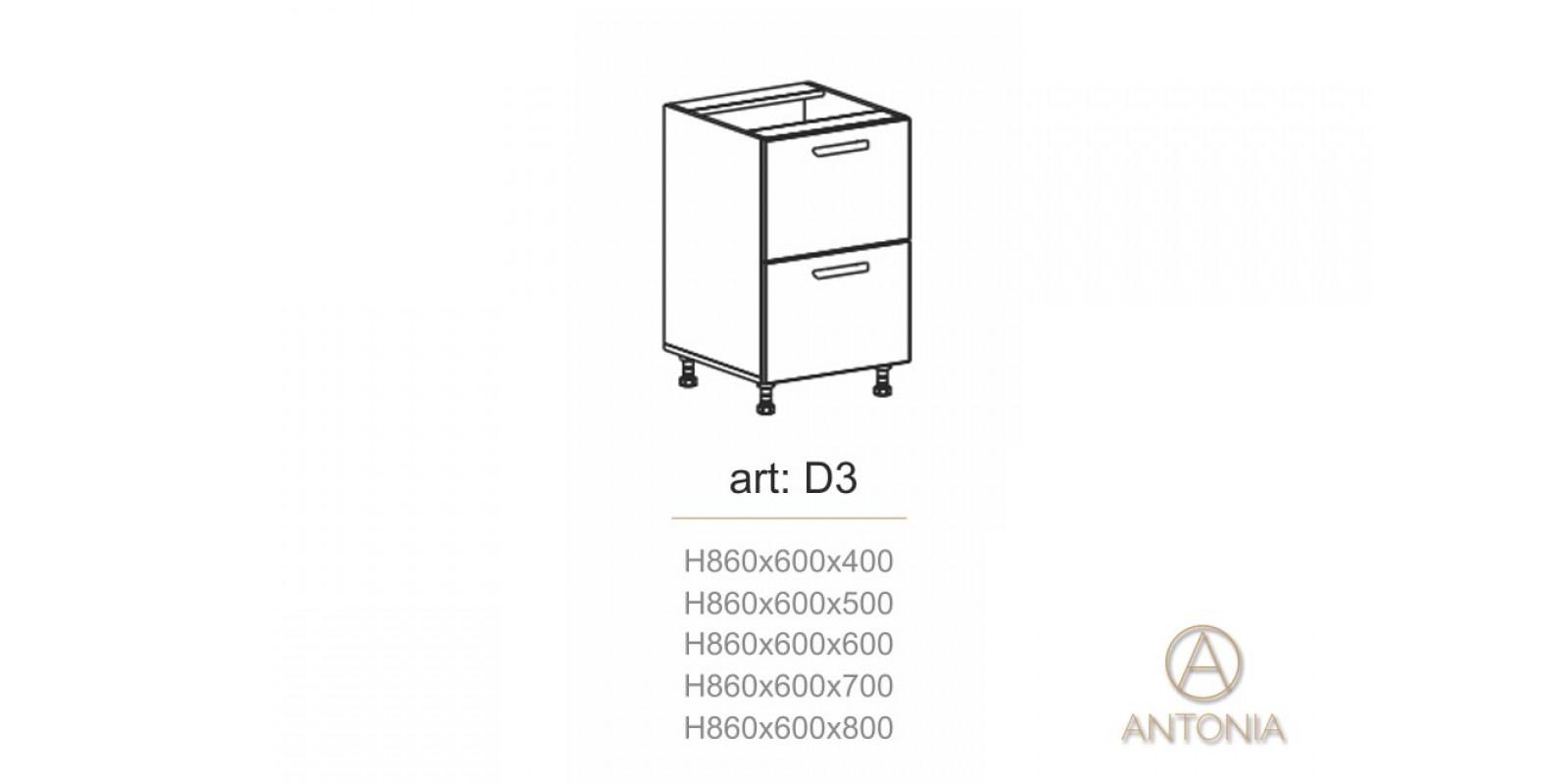 Кухня модуль  D3