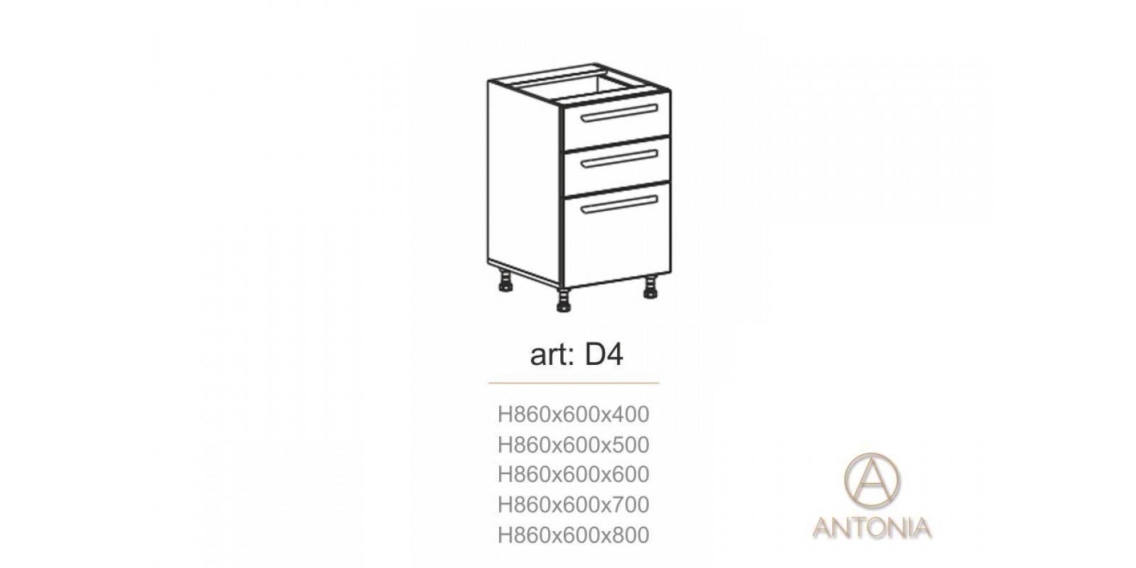 Кухня модуль  D4