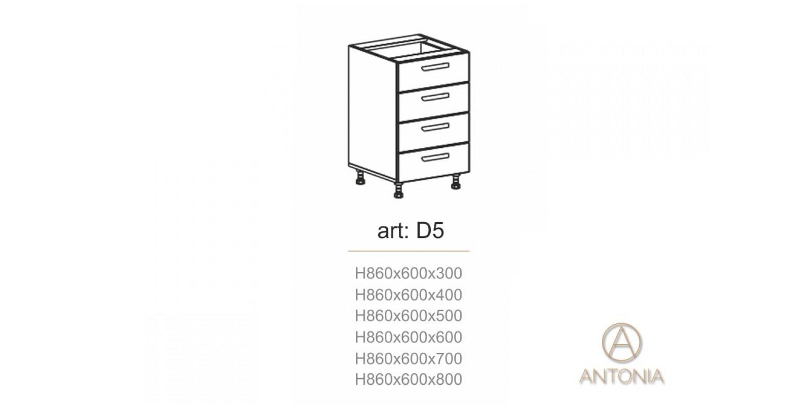 Кухня модуль  D5