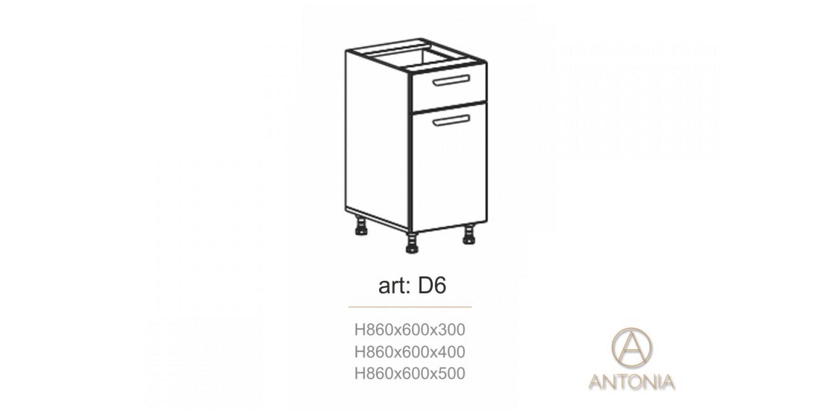 Кухня модуль  D6